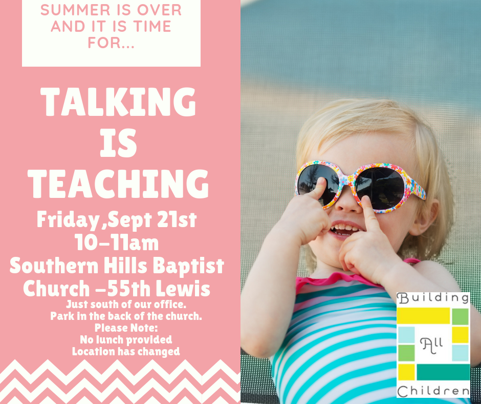 Talking Is Teaching – 2018