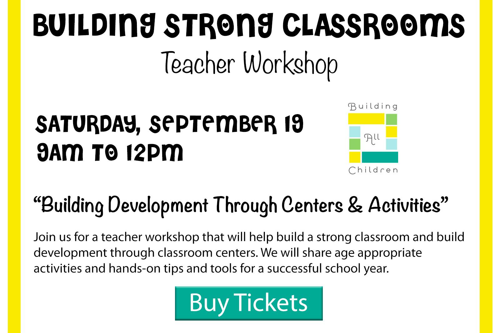 Click to register for Teacher Workshop