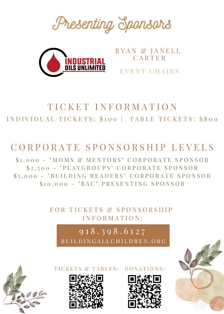 2021 Fundraiser Sponsor